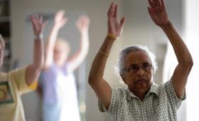 Geriatricarea Matia Fundazioa programa para el fortalecimiento muscular y mejora del equilibrio