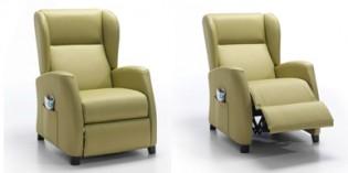 Elegantes y cómodos sillones de relax para geriátricos y centros socio-sanitarios