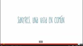 Sanyres muestra en un vídeo la vida en común de profesionales y residentes
