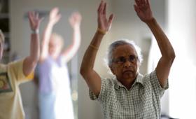 Geriatricarea ejercicio envejecimiento activo Hoffmann Training