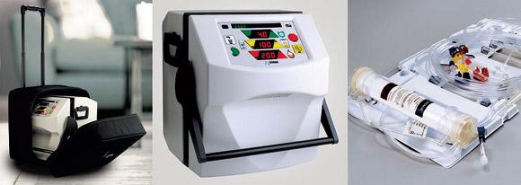 Geriatricarea hemodiálisis domiciliaria transportable NxStage System