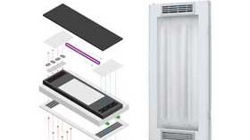 HRMS: sistema de iluminación ultravioleta que elimina los agentes patógenos presentes en el aire