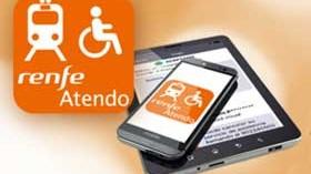 ILUNION desarrolla una app para facilitar el acceso al servicio Renfe Atendo a personas con discapacidad