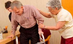 Geriatricarea caídas personas mayors Sanitas Residencial