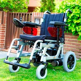Geriatricarea silla de ruedas Libercar Emblema