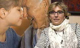 geriatricarea trabajadores sociales Beatriz Lorenzo, Asistencia Familiar 24