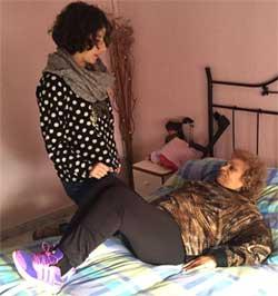 Geriatricarea Fisioterapeuta terapeuta ocupacional discapacidad hospitalización