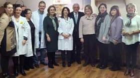 El Hospital de Guadarrama pone en marcha un jardín terapéutico para rehabilitación