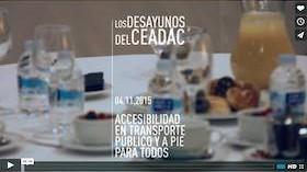 Vídeo Ceadac – Autonomía y movilidad urbana: accesibilidad en transporte público y a pie para todos