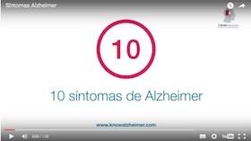 Vídeo kNOW Alzheimer: Los 10 síntomas de la Enfermedad de Alzheimer