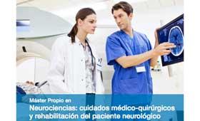 Geriatricarea Máster Neurociencias paciente neurológico