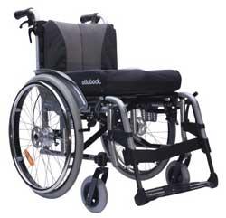 Geriatricarea silla de ruedas Motus Ottobock