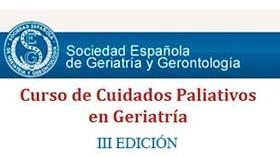 El III Curso de Cuidados Paliativos de la SEGG se centra en el paciente con demencia