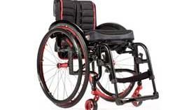 QUICKIE Neon 2, una silla ligera y de plegado compacto