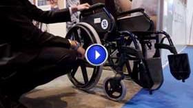 Grupo Ballesol crea una silla de ruedas corporativa de alta gama para sus residentes