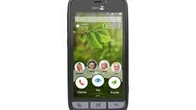 El Smartphone Doro 8031 sustituye los iconos por palabras para facilitar su uso
