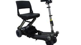 Luggie Eco: un scooter portátil de fácil y rápido plegado