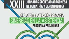 XXIII Jornadas de la Sociedad Aragonesa de Geriatría y Gerontología