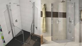 Mamparas que facilitan la ducha a personas mayores o con dificultad de movimientos