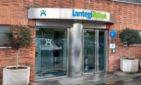 geriatricarea personas con discapacidad Lantegi Batuak