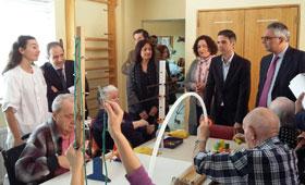 Geriatricarea Comunidad de Madrid centros sociales