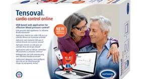 Tensoval cardio control online permite la monitorización en el hogar de la presión arterial