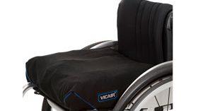 Primer cojín de células de aire para silla de ruedas… ¡que puede lavarse a máquina!