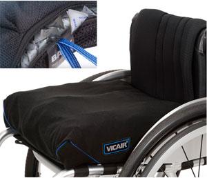 Primer coj n de c lulas de aire para silla de ruedas que puede lavarse a m quina - Cojin silla de ruedas ...