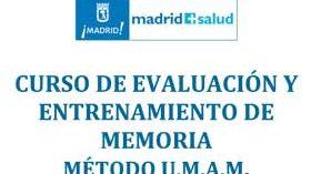 Curso Madrid Salud sobre Atención a personas con pérdida de memoria asociada a la edad