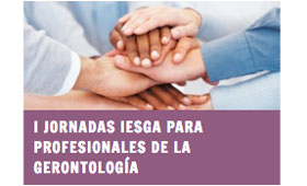 geriatricarea Jornadas IESGA Profesionales Gerontología