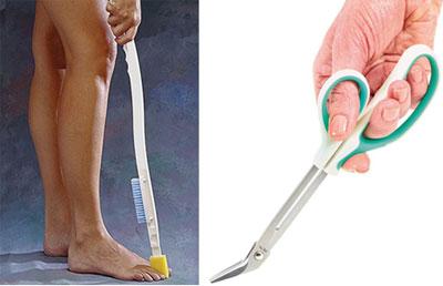 geriatricarea limpieza de pies Bienestar Senior