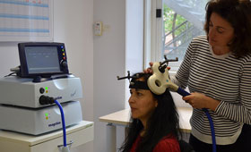 Geriatricarea estimulación magnética transcraneal UOC Alzheimer Parkinson