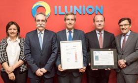 geriatricarea Fundación ONCE e ILUNION Sello de Excelencia Europea