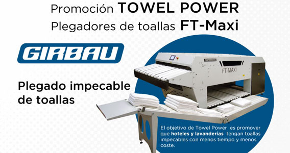 Geriatricarea Girbau Towel Power FT-MAXI