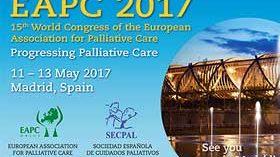 Madrid sede del XV Congreso Mundial de la Asociación Europea de Cuidados Paliativos – EAPC