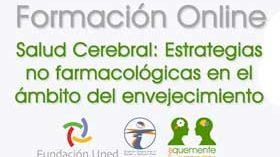 Curso online sobre salud cerebral y estrategias no farmacológicas en el ámbito del envejecimiento