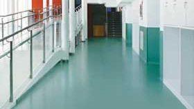 DLW Flooring presenta nuevos pavimentos para el sector sanitario