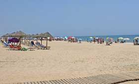 La Antilla, en Lepe, es la playa más accesible de España 2016