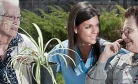 Geriatricarea envejecimiento activo Adavir jardineria