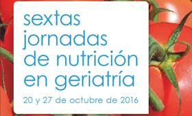 Geriatricarea Jornadas de Nutrición en Geriatría