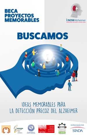 Geriatricarea kNOW Alzheimer Beca Proyectos Memorables Alzheimer