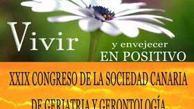 XXIX Congreso de Sociedad Canaria de Geriatría y Gerontología