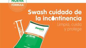 Manoplas y toallitas Swash para proteger la piel de las personas con incontinencia