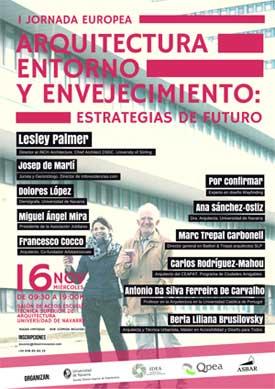 Geriatricarea Jornada de Arquitectura, Entorno y Envejecimiento