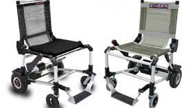 Zinger: una silla eléctrica plegable, cómoda y ligera