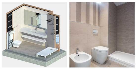 Geriatricarea Conspace baños industrializados