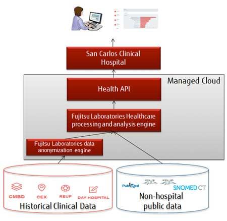 Geriatricarea Fujitsu HIKARI API Sanitaria
