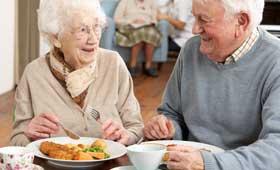 Geriatricarea alimentación Alzheimer