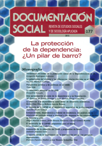 Geriatricarea protección dependencia Cárita