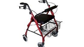 Práctico y seguro andador para personas con movilidad reducida